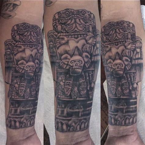 80 Unique Aztec Tattoo Designs Unique Aztec Designs