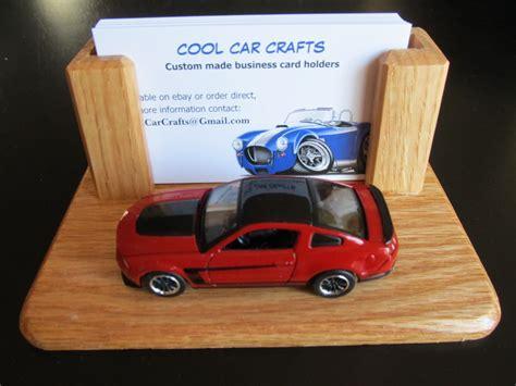Car Business Card Holder