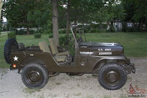 military jeep 1952 m38a1 willys military jeep