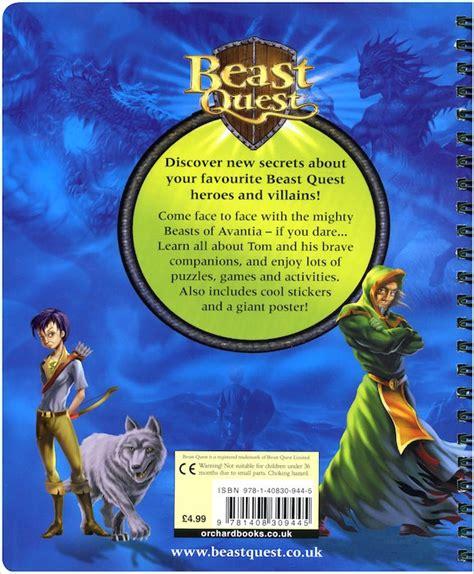 beast quest adventurers handbook scholastic shop