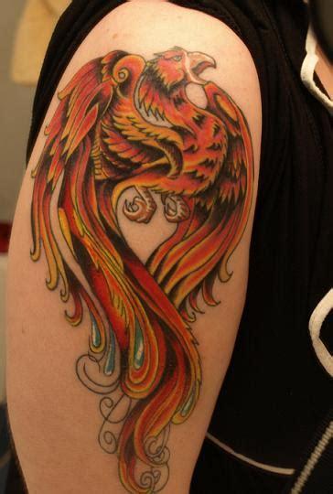 tattoo phoenix hours phoenix tattoo finished by katebloomfield on deviantart