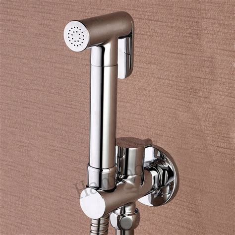bathroom jet spray aliexpress com buy toilet brass hand held bidet spray