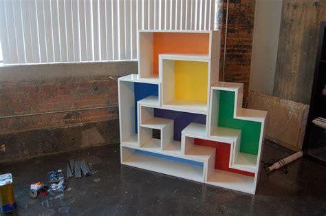 tetris shelves goods and tables