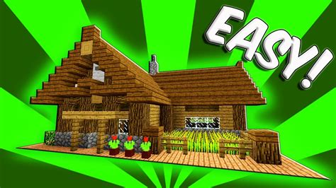 minecraft starter house minecraft how to build a small survival starter house