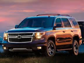Chevrolet Tahoe Edition 2017 Chevrolet Tahoe And Suburban Midnight Editions