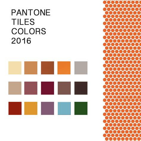 colors for 2016 pantone tiles colors 2016 midwest mosaic inc