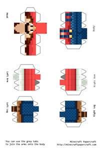 Mario Paper Craft - papercraft mario