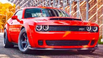 challenger world 2018 dodge challenger srt 840hp fastest car in the