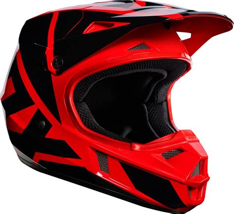 youth motocross racing fox racing youth v1 race mx motocross helmet ebay