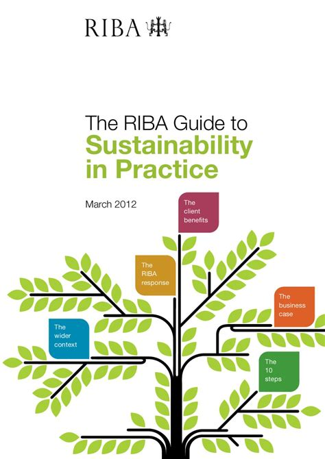 The Sustainable Mba A Business Guide To Sustainability Pdf by Riba Guide To Sustainability In Practice By Royal