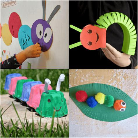 caterpillar crafts for caterpillar crafts and activities for from abcs to acts
