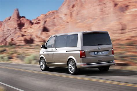 volkswagen caravelle this is vw s all new t6 transporter van carscoops