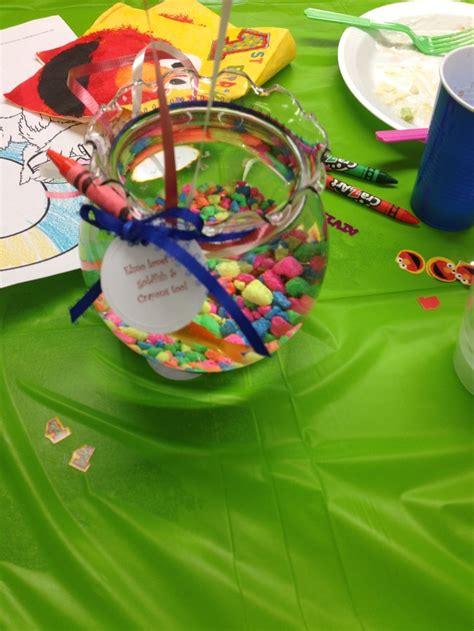 fish bowl centerpieces fish bowl centerpieces olives 2nd birthday