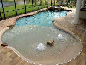 Backyard Pools With Entry Pin By Antonia Brekke On Home Ideas