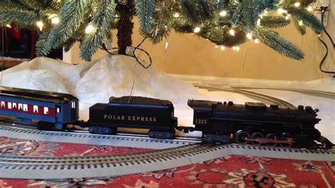 twice around the tree lionel lionchief polar express