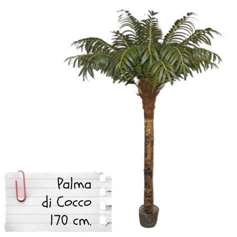 pianta di cocco da appartamento piante finte artificiali da arredo interno palma da cocco