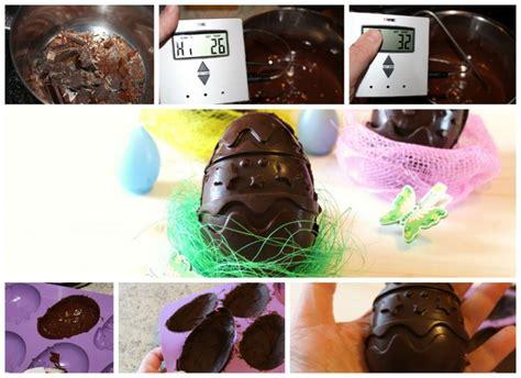 uovo di pasqua fatto in casa uovo di cioccolato fatto in casa