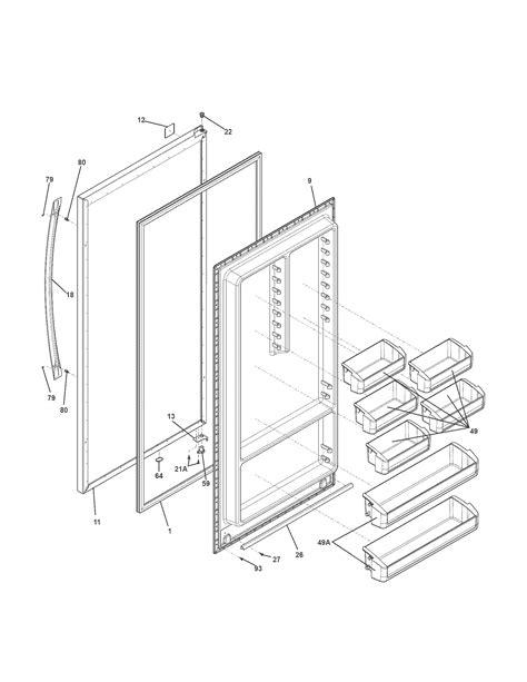Kenmore Elite 25344753110 upright freezer parts | Sears