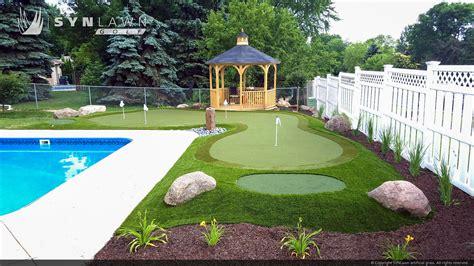 backyard putting green turf backyard putting green turf synthetic turf backyard