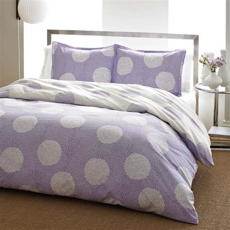 polka dot bedding total fab purple polka dot bedding