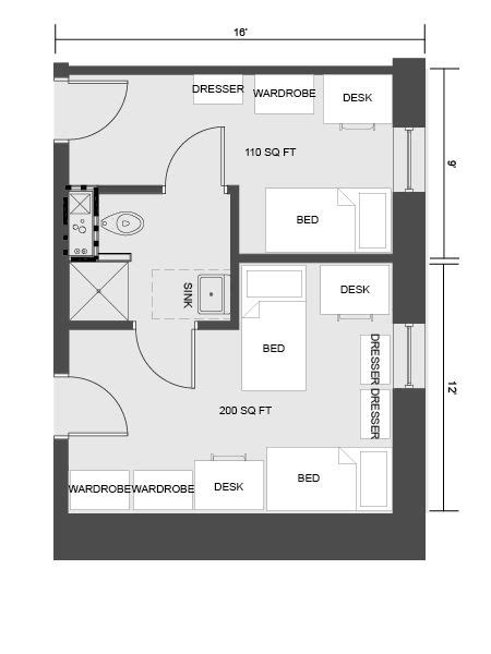 columbia apartment housing floor plans home