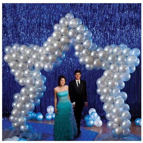 Balon Foil Bunga Frozen metallic foil fringe door ribbon curtains