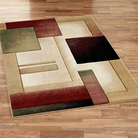 Modern Composition Area Rugs Area Rug