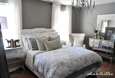 Gray Guest Bedroom Ideas Dear Lillie Peek Of Our Gray Guest Bedroom And Ballard Design