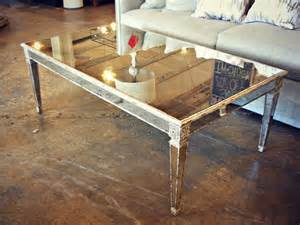 Antique Mirrored Coffee Table Mirrored Coffee Table Antique