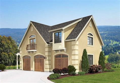 17 Best Images About House Plans On Pinterest 3 Car Narrow Carriage House Plans