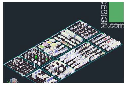3d autocad models free download