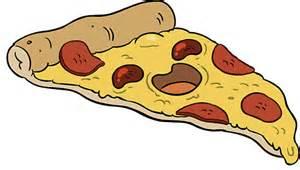 Wall Sticker Canada quot cute cartoon pizza slice quot stickers by ellamakesart