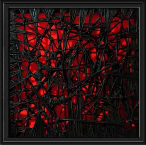 imagenes abstractas rojo y negro rojo negro julian aragoneses pintura contempor 225 nea