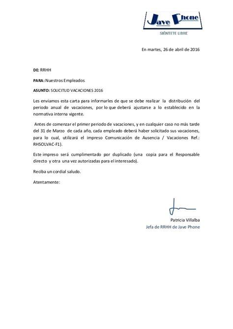 carta de autorizacion de retiro de cesantias solicitud vacaciones