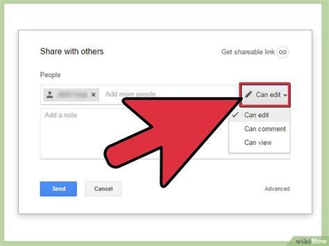 comment partager des documents google docs  etapes