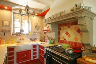french country home decorating ideas from provence bright red color accents 15 bold and bautiful home