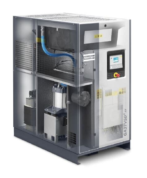 ga vsd compressors silent operation small footprint