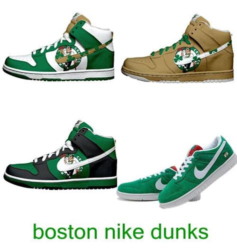 Kasual Nike Bostos boston celtics nike dunk sb high tops and low shoes comic nike dunks nike high