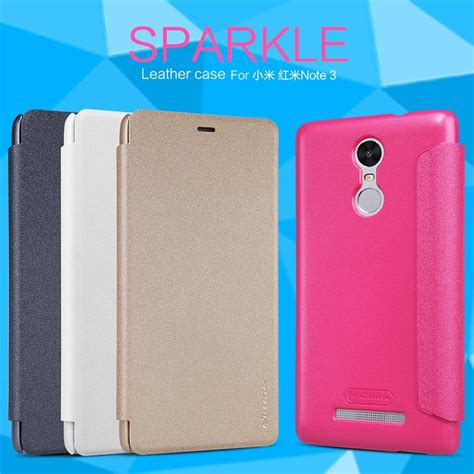 Nillkin Sparkle Xiaomi Redmi Note 3 Leather Flip xiaomi redmi note 3 nillkin sparkle s end 9 9 2017 3 43 pm