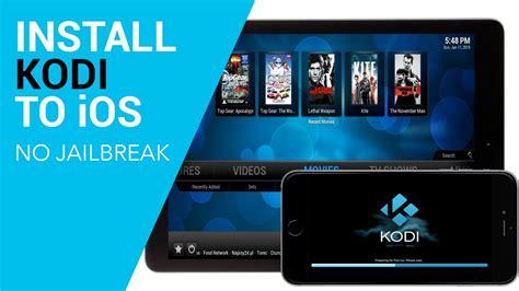 install kodi xbmc  ios ipad iphone  jailbreak