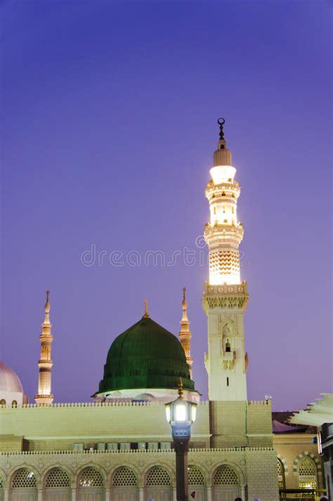 download mp3 adzan masjid nabawi masjid al nabawi or nabawi mosque in medina stock image