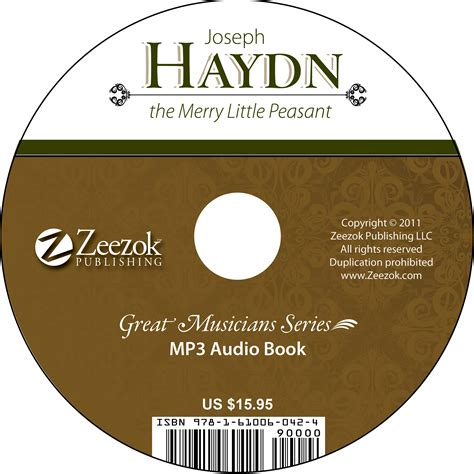 format of audio books joseph haydn the merry little peasant audio book on cd