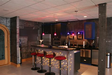 home bar fitness room galleries  frankfort
