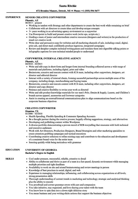 Ad Copywriter Cover Letter by Ad Copywriter Sle Resume Web Technician Cover Letter Community Psychiatric Cover Letter