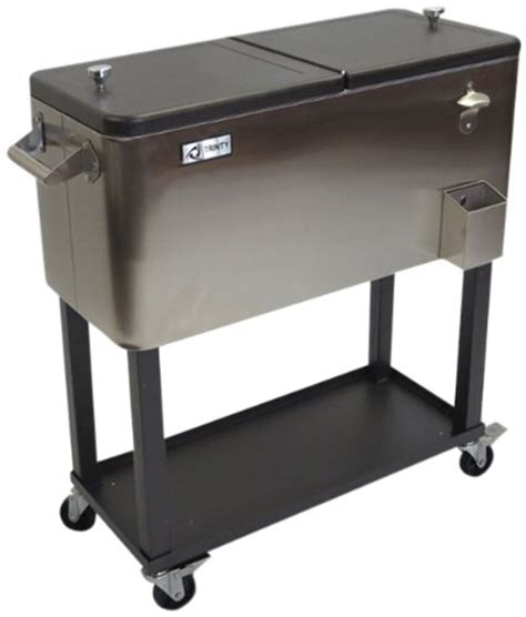 Stainless Steel Cooler With Shelf by Txk 0802 Stainless Steel Cooler With Shelf
