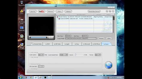 how to convert any video format to mp3 or wav using vlc how to convert any video format to mp3 by using winx hd vc