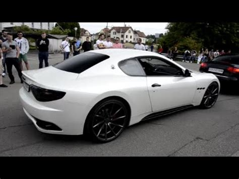 maserati modified loud maserati granturismo s w modified exhaust