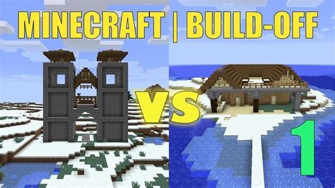 minecraft boat gate minecraft 30 minute build challenge gate house vs boat