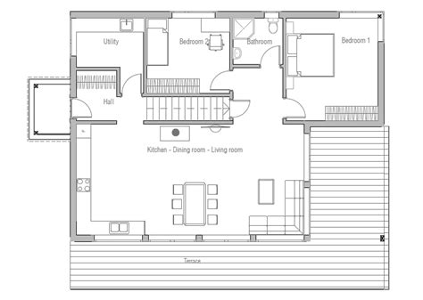 Affordable Floor Plans by Affordable Home Ch52 Floor Plans And House Details