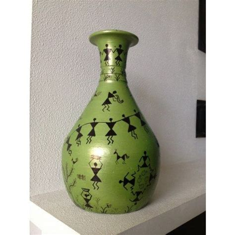 Painting On Vase by 17 Best Images About Warli On Terracotta Items On